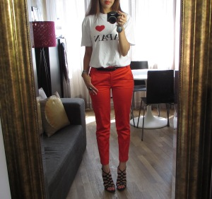 Red pants 5